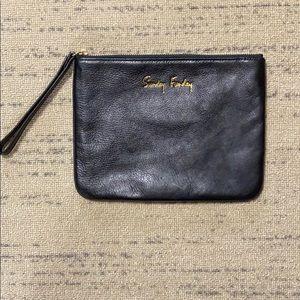 Rebecca Minkoff Leather Sunday Funday Wristlet